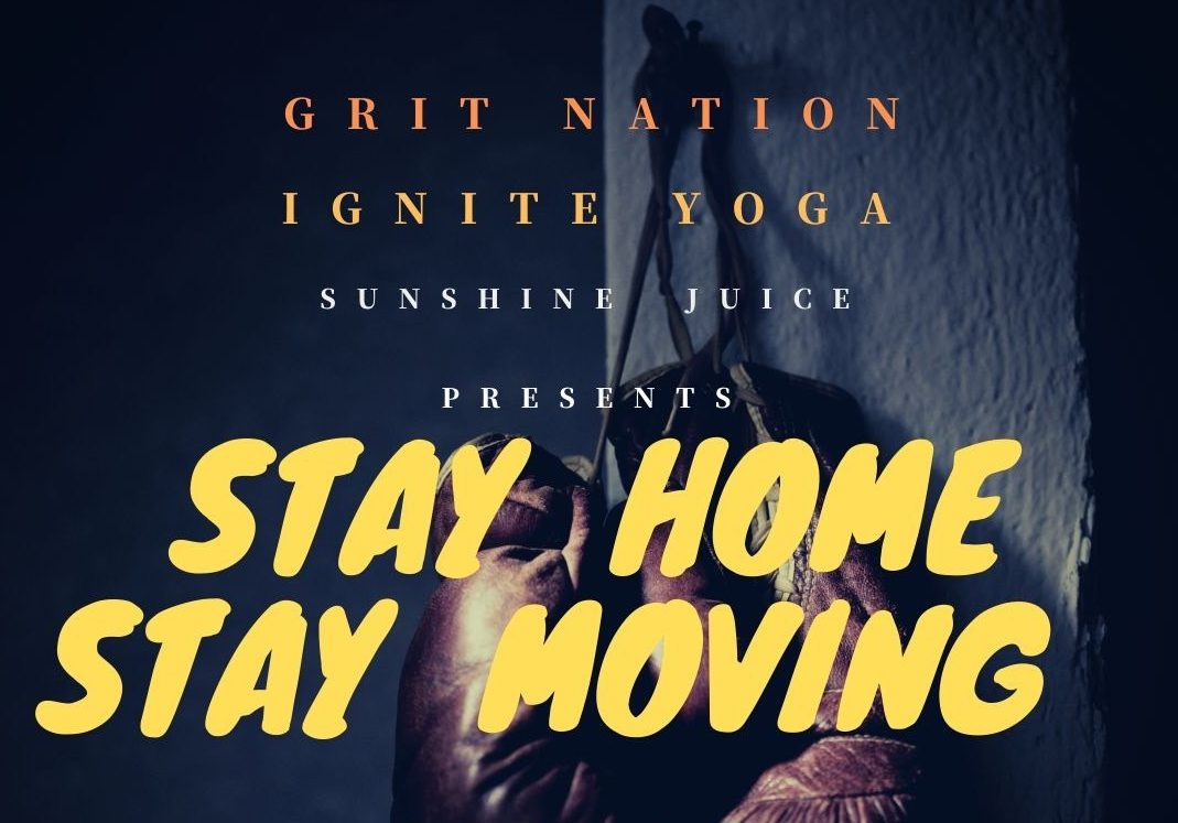 #STAYHOMESTAYMOVING