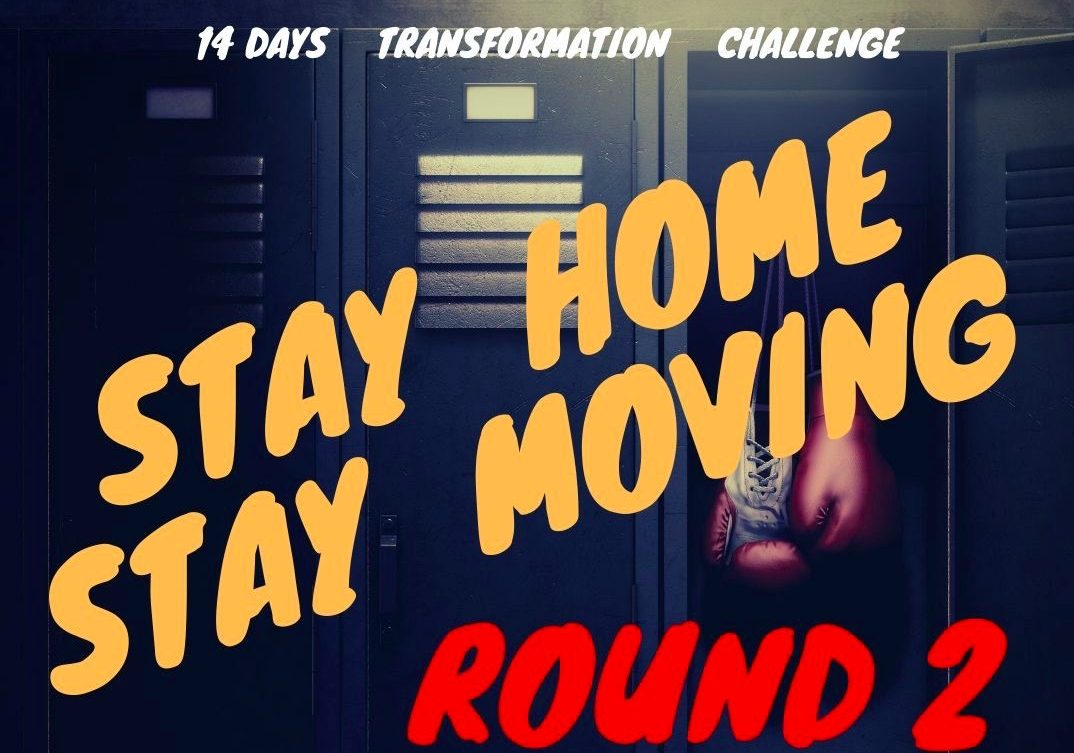 stayhomestaymoving ROUND2 開始のお知らせ。